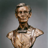 Click on this picture to learn more about our Life Size Lincoln bronze sculptures