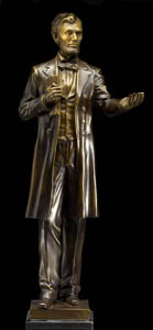 """Lincoln at Gettysburg"" Click to learn more about this Limited Edition figure"