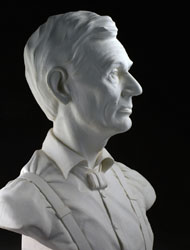 Abraham Lincoln Terra Cotta by James Nance