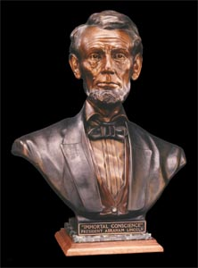 Click to learn more about our Abraham Lincoln Scupture